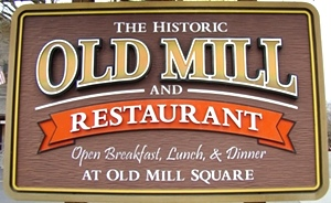 Old Mill Restaurant Pigeon Forge,TN. Campground Creekside RV Park