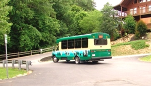Pigeon Forge Trolleyride From Creekside RV Park
