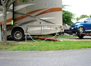 RV Park Campground Pigeon Forge, Tennessee
