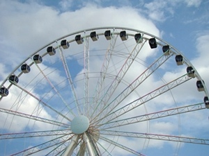 The Island - Great Smoky Mountain Wheel in Pigeon forge